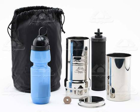 buy go berkey water filter kit