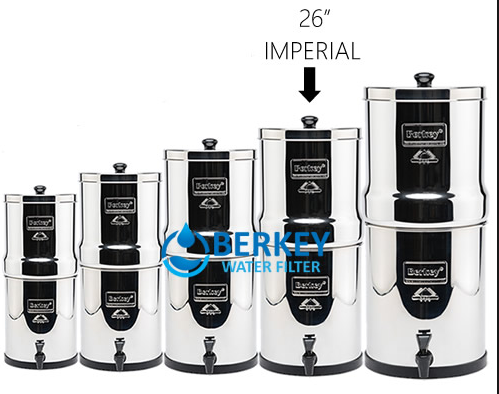 berkey imperial water filter comparison