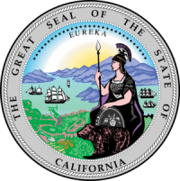 seal of the state of ca